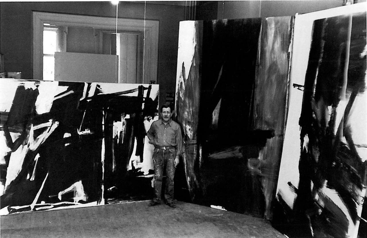 Franz Kline Paintings Color