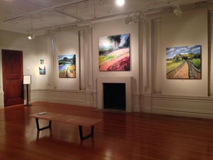"My show ""New Territory"" at Alexey von Schlippe Gallery of Art"